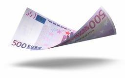 欧洲500张的钞票 库存图片
