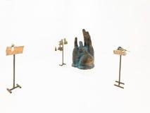 欧洲当代雕塑 库存图片