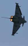 欧洲战斗机台风 免版税库存图片