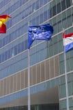 欧洲旗子 免版税图库摄影