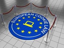 欧洲曲奇饼法律 免版税库存图片