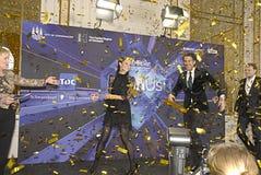 欧洲歌唱大赛2014年 库存照片