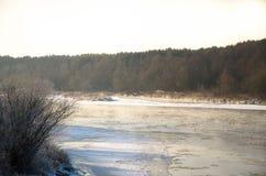 欧洲河 免版税库存图片