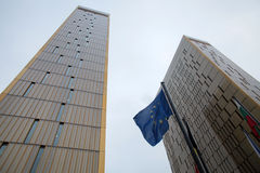 欧洲法院 库存图片
