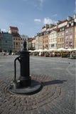 欧洲波兰华沙 库存照片