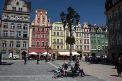 欧洲波兰弗罗茨瓦夫 免版税库存图片