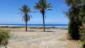 欧洲海滩 免版税库存图片