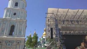 欧洲电视网2017年歌曲比赛-基辅,乌克兰 免版税图库摄影