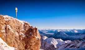 欧洲的阿尔卑斯 免版税图库摄影