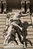 欧洲的建筑纪念碑。维也纳。 免版税库存照片