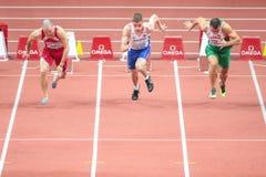 欧洲竞技室内冠军2015年 免版税库存图片