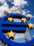 欧洲签到摩天大楼的fron 免版税库存照片