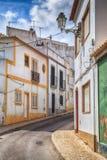 欧洲缩小的街道 免版税图库摄影
