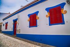 欧洲缩小的街道 图库摄影