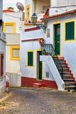 欧洲缩小的街道 库存照片