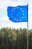 欧洲联盟标志 免版税图库摄影