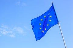 欧洲联盟标志 库存照片