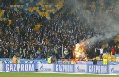 欧洲联赛冠军杯比赛基辅迪纳摩v贝希克塔什 图库摄影
