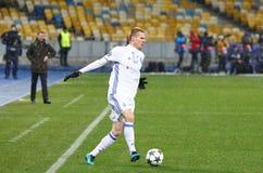 欧洲联赛冠军杯比赛基辅迪纳摩v贝希克塔什 库存图片