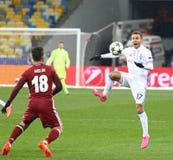 欧洲联赛冠军杯比赛基辅迪纳摩v贝希克塔什 免版税库存图片