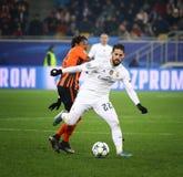 欧洲联赛冠军杯比赛Shakhtar对皇马 免版税图库摄影