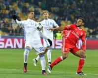 欧洲联赛冠军杯:基辅迪纳摩v本菲卡队 免版税库存照片