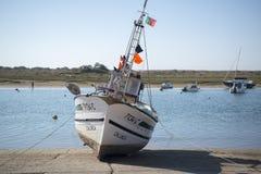 欧洲葡萄牙阿尔加威小屋海岸 图库摄影