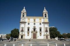 欧洲葡萄牙阿尔加威法鲁IGREJA做卡尔穆 免版税库存照片