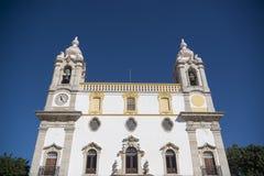 欧洲葡萄牙阿尔加威法鲁IGREJA做卡尔穆 库存图片