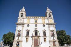 欧洲葡萄牙阿尔加威法鲁IGREJA做卡尔穆 库存照片