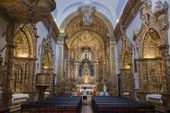 欧洲葡萄牙阿尔加威法鲁IGREJA做卡尔穆 图库摄影