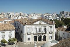 欧洲葡萄牙阿尔加威法鲁LARGO DE SE 免版税图库摄影