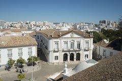 欧洲葡萄牙阿尔加威法鲁LARGO DE SE 库存照片