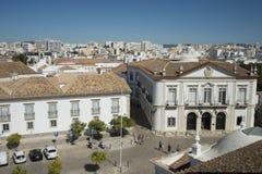 欧洲葡萄牙阿尔加威法鲁LARGO DE SE 库存图片