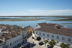 欧洲葡萄牙阿尔加威法鲁RIA福摩萨 免版税库存图片