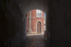 欧洲葡萄牙阿尔加威TAVIRA老镇 免版税库存图片