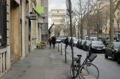 欧洲街道 免版税图库摄影