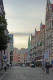 欧洲街道 库存照片