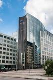 欧洲议会塔在布鲁塞尔,比利时 图库摄影