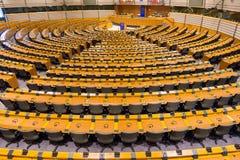 欧洲议会室 库存照片