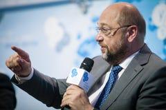 欧洲议会马丁Schulz总统 库存照片