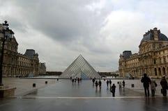 欧洲金字塔  库存图片