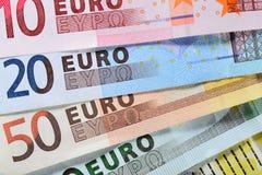 欧洲金钱 库存图片