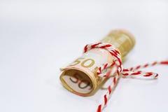 欧洲金钱抽象照片  免版税库存图片