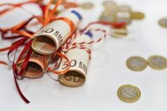 欧洲金钱抽象照片  图库摄影