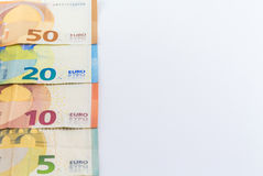 欧洲金钱欧洲人钞票 免版税库存图片