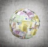 欧洲金钱球 免版税库存照片