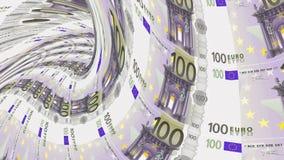 欧洲钞票隧道,财政消沉,财政崩溃 股票视频