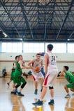 欧洲青年篮球联盟 库存照片