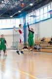 欧洲青年篮球联盟 免版税库存图片